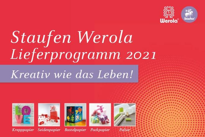 Staufen Werola Katalog 2021